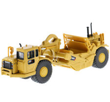 DM 1/87 CAT 627G Scraper HO Toy Construction Vehicle Car Model Yellow Diecast