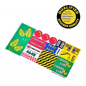 CUSTOM sticker for LEGO 4645 Harbor Set, sticker only