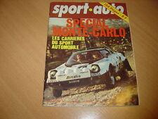 Sport Auto N°168 Porsche 924.Opel Kadett GTE.Monté-Carlo