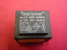 PRINT-TRAFO 30V~ 66,6mA  ABMESSUNGEN ca. 32x27x27mm TRANSFORMATOR   24757