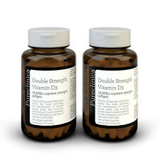 Vitamin D3 - 10,000iu Softgel Capsules - 12 Months Supply - 360 Capsules