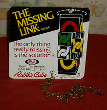 vintage Ideal THE MISSING LINK STORE DISPLAY SIGN Rubik's Cube