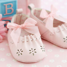 """Baby Girl Christening Quality Card """"Pretty Pink Shoes"""" design & free post!"""