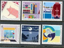 Guernsey-Literary Society Books mnh set of 6