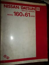 Nissan PATROL 160 & 61 Datsun 1980 : SERVICE MANUAL