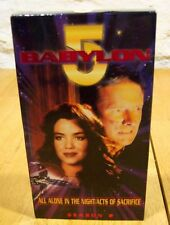 Babylon 5 Season 2 ALL ALONE IN THE NIGHT/ACTS OF SACRIFICE VHS VIDEO