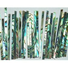 "STR23# 20"" Straight Strip Inlays Paua Abalone 1.5mm x 1.5mm thickness"