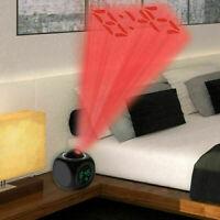 Sveglia proiezione sui muri soffitti proiettore temperatura Parlare con la voce