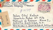 1976- PARAGUAY - Reg. Air Mail  cover - UPU jubilee
