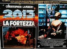 fotobusta lobby card 2013 La fortezza Fortress gordon Christopher Lambert sci-fi