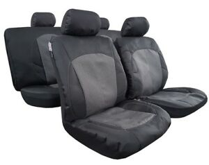 Esteem Canvas Airbag Safe Seat Cover Front Split Rear For Toyota Camry 2006-2018