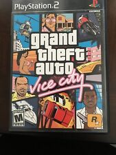 NEW SEALED Grand Theft Auto Vice City PS2 Video Game street crime shooter GTA