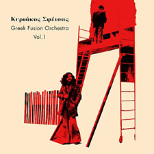 KYRIAKOS SFETSAS-GREEK FUSION ORCHESTRA VOL.1-IMPORT CD WITH JAPAN OBI G09