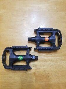 BMX Bicycle Pedals Fixed Gear Fixie VP-Components VP-560 Plastic Platform