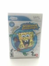 Wii Video Game: SpongeBob Squiggle Pants I UDraw I Rated Everyone