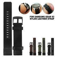 Bande montre bracelet occasionnel sport RU Samsung Gear S3 Frontier Classic BR