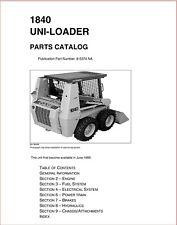 2003 Case 1840 Uniloader Skid Steer Service Parts Manual 8 5374 Na