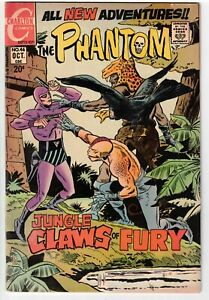 THE PHANTOM #46 1971 CHARLTON BRONZE AGE!
