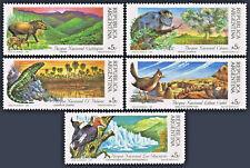 1989 National Parks - Animals - Argentina 1647 - 1651 Mint NH complete set
