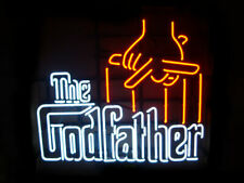 """New Godfather Beer Bar Neon Light Sign 24""""x20"""""""