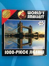 Cheatwell Games - Worlds Smallest 1000 Piece Jigsaw Puzzle - Tower Bridge