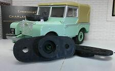 LandRover Series 1 2 2a Lucas FW2 Wiper Motor Rubber Windscreen Seal Escutcheons