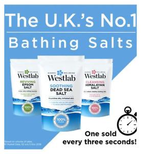 Epson Himalayan Dead Sea Westlab Bath Salt Reviving Cleansing Smooth Skin 1KG