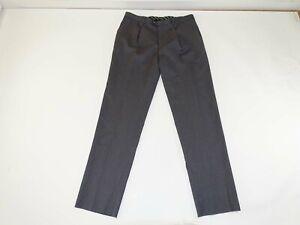 Joseph Abboud Boy's Suit Dress Pants Size 22 Husky NWT Gray 100% Wool Unfinished