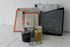 Genuine Mercedes-Benz C219 CLS Diesel Service Kit - Oil Air Pollen Fuel Filter