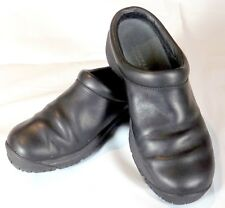 Merrell Womens Shoes Clogs Encore Nova 2 Black Leather Mules Size 7 J48510