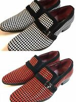 Mens Dress Shoes Casual Tuxedo Loafer Fashion Slip On Formal Wedding Party Sizes