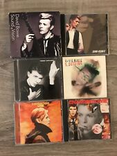 David Bowie 6 CD Lot * 9 DISCS! Sound Vision