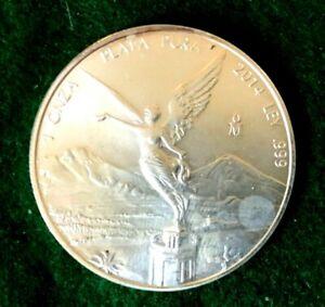 2014 Mexican Libertad 1 Oz .999 Silver -T