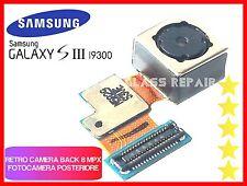FOTOCAMERA POSTERIORE BACK per SAMSUNG GALAXY S3 I9300 camera 8MPX