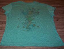 WOMEN'S TEEN Walt Disney TINKERBELL TINK FAIRY T-shirt 2XL XXL Size 19 NEW