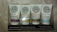 2 X Ultimate Shaving Kit The Real Shaving Company 4x50ml travel sizes