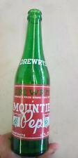 RARE 1930s Drewrys Mountie Pep ACL Bottle 12 Oz