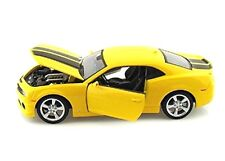 Maisto Chevrolet Camaro SS RS 2010 Yellow 1/24 scale Diecast CAR Model