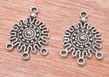 20pcs Tibetan  silver jewelry earring connector connectors pendant 27mm
