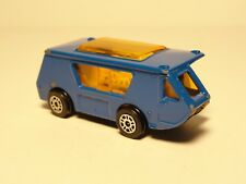Vintage Corgi Junior Blue Wigwam-Van Camper Die-cast Car