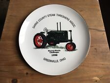 MASSEY HARRIS CHALLENGER FARM TRACTOR PLATE STEAM THRESHER SHOW 1990 ENGINE