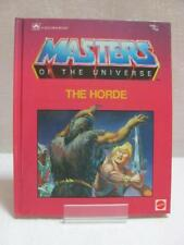 Masters of The Universe - A Golden Book Mattel Inc  The Horde