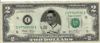 Tamp Bay Bucs Tom Brady $2 Dollar bill Mint real