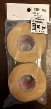 NWT! MUELLER TRAINERS ATHLETIC 10 YDS MTAPE BEIGE 2-PACK