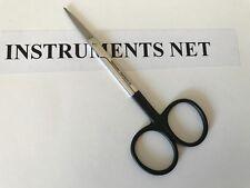 "SuperCut Iris Scissors 4.5"" Straight German Stainless Steel CE"