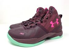 1270817-601 UNDER ARMOUR CURRY 2 BHM BLACK HISTORY MONTH BASKETBALL SHOES US 5Y