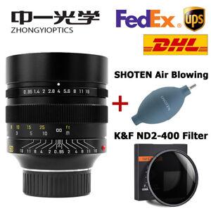 Zhongyi Mitakon Speedmaster 50mm f/0.95 Full Frame Lens For Leica M M240 M3 M6