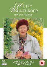 Hetty Wainthropp Investigates Series 1 to 4 Complete Collection DVD NEW dvd (AV3