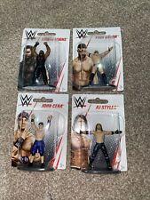 WWE Mini Figures Set Of 4 Mattel - Brand New Sealed Wrestling Job Lot
