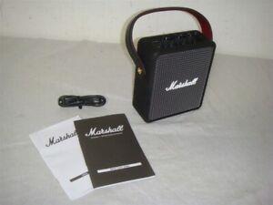 MARSHALL STOCKWELL II WIRELESS BLUETOOTH SPEAKER BLACK -REFURBISHED